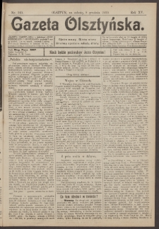Gazeta Olsztyńska, 1900, nr 145