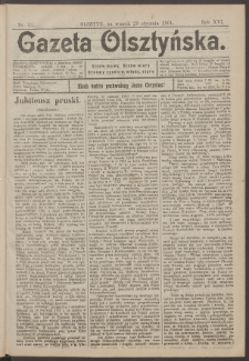 Gazeta Olsztyńska, 1901, nr 13