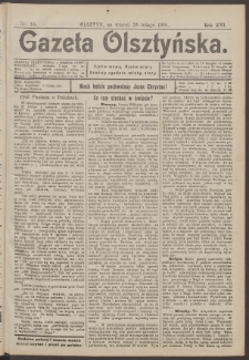 Gazeta Olsztyńska, 1901, nr 25