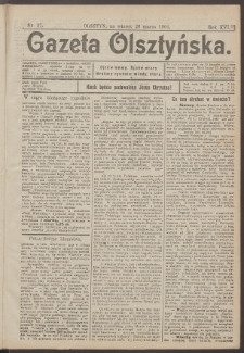 Gazeta Olsztyńska, 1901, nr 37