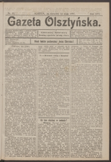 Gazeta Olsztyńska, 1901, nr 61