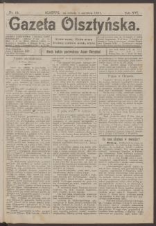 Gazeta Olsztyńska, 1901, nr 64