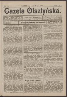 Gazeta Olsztyńska, 1901, nr 79