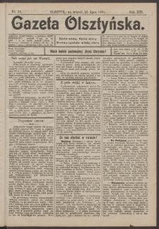Gazeta Olsztyńska, 1901, nr 83
