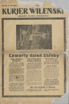 Kurjer Wileński : niezależny dziennik demokratyczny, 1935 (R. 12), nr 133