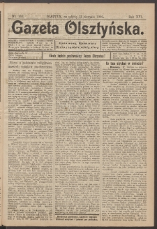 Gazeta Olsztyńska, 1901, nr 103