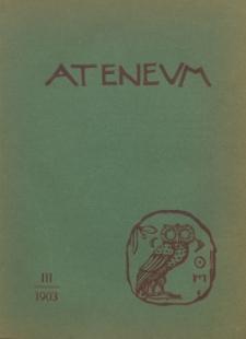 Ateneum, 1903 (R. 1), z. 3