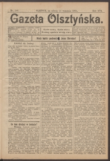 Gazeta Olsztyńska, 1901, nr 109