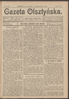 Gazeta Olsztyńska, 1901, nr 120