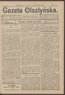 Gazeta Olsztyńska, 1901, nr 129