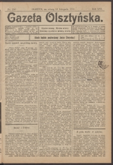 Gazeta Olsztyńska, 1901, nr 136