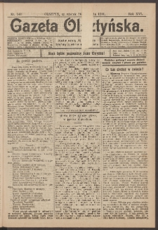 Gazeta Olsztyńska, 1901, nr 140