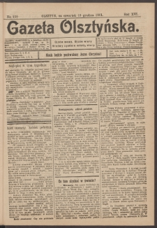 Gazeta Olsztyńska, 1901, nr 150