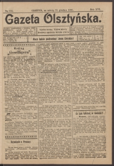 Gazeta Olsztyńska, 1901, nr 151