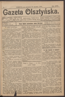 Gazeta Olsztyńska, 1902, nr 7