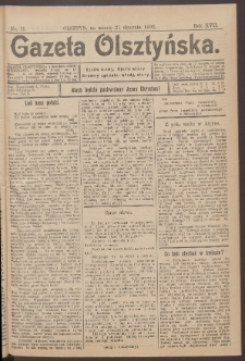 Gazeta Olsztyńska, 1902, nr 11