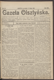 Gazeta Olsztyńska, 1902, nr 21