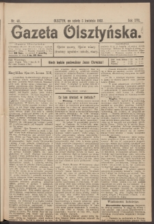 Gazeta Olsztyńska. 1902, nr 40