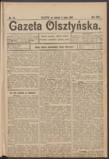 Gazeta Olsztyńska. 1902, nr 53