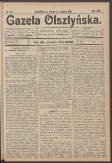 Gazeta Olsztyńska. 1902, nr 94