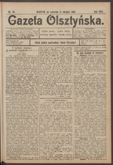 Gazeta Olsztyńska. 1902, nr 95