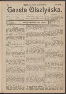 Gazeta Olsztyńska, 1903, nr 4