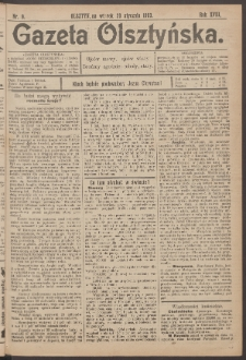 Gazeta Olsztyńska, 1903, nr 9
