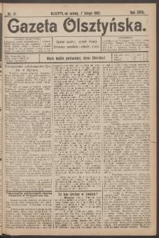 Gazeta Olsztyńska, 1903, nr 17