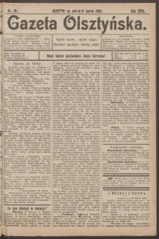 Gazeta Olsztyńska, 1903, nr 35