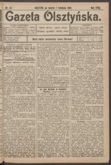 Gazeta Olsztyńska, 1903, nr 42