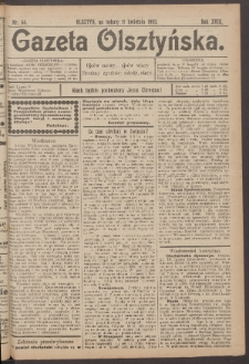 Gazeta Olsztyńska, 1903, nr 44