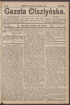 Gazeta Olsztyńska, 1903, nr 45