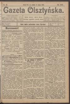 Gazeta Olsztyńska, 1903, nr 58