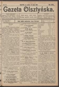 Gazeta Olsztyńska, 1903, nr 61