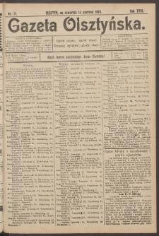 Gazeta Olsztyńska, 1903, nr 71
