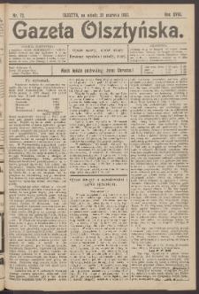 Gazeta Olsztyńska, 1903, nr 72
