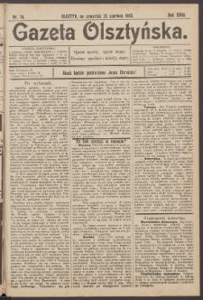 Gazeta Olsztyńska, 1903, nr 74