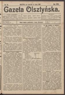 Gazeta Olsztyńska, 1903, nr 83
