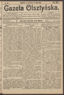 Gazeta Olsztyńska, 1903, nr 89