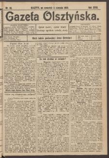Gazeta Olsztyńska, 1903, nr 92