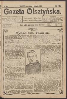 Gazeta Olsztyńska, 1903, nr 93
