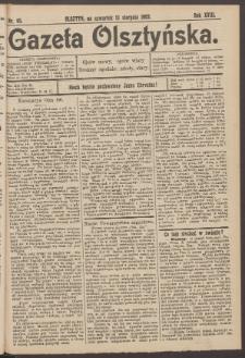 Gazeta Olsztyńska, 1903, nr 95