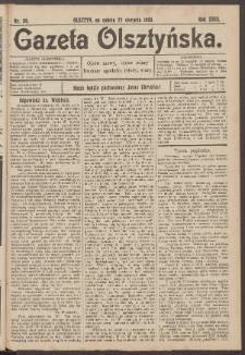 Gazeta Olsztyńska, 1903, nr 99