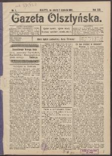 Gazeta Olsztyńska, 1904, nr 1