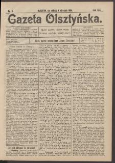 Gazeta Olsztyńska, 1904, nr 4
