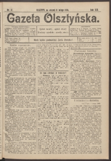 Gazeta Olsztyńska, 1904, nr 17