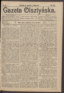Gazeta Olsztyńska, 1904, nr 18