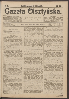 Gazeta Olsztyńska, 1904, nr 21