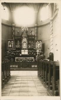 [Ołtarz główny w kościele św. Józefa w Olsztynie]