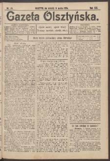 Gazeta Olsztyńska, 1904, nr 29